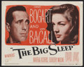 "Movie Posters:Crime, The Big Sleep (Warner Brothers, 1946). Title Lobby Card (11"" X14""). Film Noir. Starring Humphrey Bogart, Lauren Bacall, Mar..."