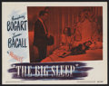 "Movie Posters:Crime, The Big Sleep (Warner Brothers, 1946). Lobby Card (11"" X 14""). FilmNoir. Starring Humphrey Bogart, Lauren Bacall, Martha Vi..."