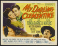 "Movie Posters:Western, My Darling Clementine (20th Century Fox, 1946). Title Lobby Card (11"" X 14""). Western. Starring Henry Fonda, Linda Darnell, ..."