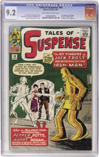 Tales of Suspense #45 (Marvel, 1963) CGC NM- 9.2 Off-white to white pages