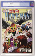 Silver Age (1956-1969):Superhero, The Brave and the Bold #35 Hawkman - Western Penn pedigree (DC,1961) CGC NM 9.4 Cream to off-white pages....