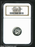 Proof Roosevelt Dimes: , 1951 10C PR68 W Cameo NGC. Magnificently struck, with ...