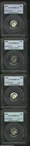Proof Roosevelt Dimes, 1956 10C PR68 Cameo PCGS, a pristine and unimprovable, ...