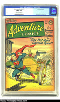 Golden Age (1938-1955):Superhero, Adventure Comics #177 (DC, 1952) CGC FN/VF 7.0 Cream to off-white pages. This is by far the highest graded copy on CGC's cen...