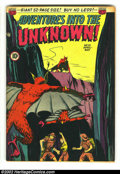 Golden Age (1938-1955):Horror, Adventures Into the Unknown #10 (ACG, 1950) Condition: FN. BobLubbers and Charles Sultan art. First time we have offered th...
