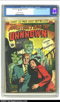 Golden Age (1938-1955):Horror, Adventures Into the Unknown #25 (ACG, 1951) CGC VF- 7.5 Cream tooff-white pages. Classic Pre-Code horror in the ACG style. ...