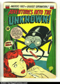Golden Age (1938-1955):Horror, Adventures Into the Unknown #50 (ACG, 1953) Condition: VG. Ken Baldcover. First time we have offered a copy of issue #50 fo...