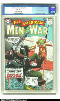 All-American Men of War #102 (DC, 1964) CGC NM 9.4 Cream to off-white pages. Mademoiselle Marie appearance. Joe Kubert c...