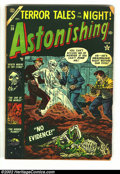 Golden Age (1938-1955):Horror, Astonishing lot (Atlas, 1953). #28 GD+ and #55 VG/FN. Overstreet 2002 value for group = $60. From the collection of Bobby ... (Total: 2 Comic Books Item)