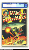Golden Age (1938-1955):Science Fiction, Attack on Planet Mars nn (Avon, 1951) CGC FN+ 6.5 Cream tooff-white pages. Beautiful artwork by Infantino, Kubert andWally...