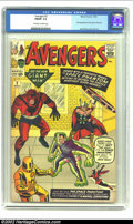 Silver Age (1956-1969):Superhero, The Avengers #2 (Marvel, 1963) CGC FN/VF 7.0 Off-white to white pages. First appearance of the Space Phantom. Jack Kirby cov...