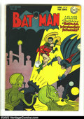 Golden Age (1938-1955):Superhero, Batman #41 (DC, 1947) Condition: VG+. This is the first Batman cover and story with a science fiction theme. Overstreet 2002...