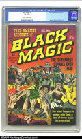Golden Age (1938-1955):Horror, Black Magic #2 (Prize, 1950) CGC FN- 5.5 Cream to off-white pages.Classic Jack Kirby covers distinguished most issues over ...