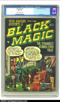 Golden Age (1938-1955):Horror, Black Magic #5 (Prize, 1951) CGC FN+ 6.5 Cream to off-white pages.Terrific black cover and Jack Kirby artwork. Overstreet 2...