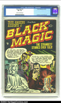 Golden Age (1938-1955):Horror, Black Magic #6 (Prize, 1951) CGC FN+ 6.5 Cream to off-white pages.Joe Simon and Jack Kirby artwork. Overstreet 2002 FN 6.0 ...