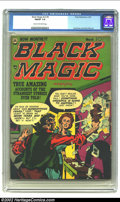 Golden Age (1938-1955):Horror, Black Magic v2 #4 (Prize, 1952) CGC FN/VF 7.0 Cream to off-whitepages. Joe Simon and Jack Kirby artwork. Overstreet 2002 FN...