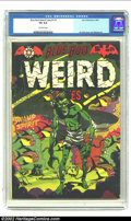 Golden Age (1938-1955):Horror, Blue Bolt Weird Tales #114 (Star Publications, 1952) CGC VG 4.0Off-white pages. L.B. Cole cover, Jay Disbrow art. Overstree...