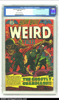 Golden Age (1938-1955):Horror, Blue Bolt Weird Tales #116 (Star Publications, 1952) CGC VG+ 4.5Cream to off-white pages. L.B. Cole cover, Jay Disbrow art....