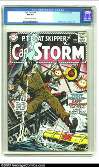 Captain Storm #4 (DC, 1964) CGC NM 9.4 Cream to off-white pages. Irv Novick cover. Novick and Gene Colan art. CGC highes...