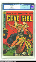 Golden Age (1938-1955):Miscellaneous, Cave Girl #11 (#1) (Magazine Enterprises, 1953) CGC FN 6.0 Off-white pages. Origin of Cave Girl, A-1 Comics #82. Bob Powell ...