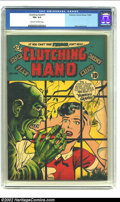 Golden Age (1938-1955):Horror, Clutching Hand #1 (ACG, 1954) CGC FN+ 6.5 Cream to off-white pages.One-shot. Moldoff, Gustavson, and Lazarus art. Overstree...