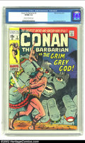 Bronze Age (1970-1979):Superhero, Conan The Barbarian #3 (Marvel, 1971) CGC VF/NM 9.0 Cream to off-white pages. Barry Smith cover and art. Low distribution in...