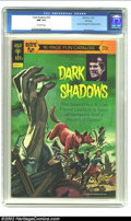 Bronze Age (1970-1979):Horror, Dark Shadows #23 File copy (Gold Key, 1973) CGC NM 9.4 Off-whitepages. Kenner 16 page fun catalog included. Fantastic paint...
