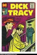 Silver Age (1956-1969):Adventure, Dick Tracy #96 (Harvey, 1956) Condition: VF+. What a beautiful, high-grade issue! This is a classic Harvey book, from the da...