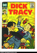 Silver Age (1956-1969):Adventure, Dick Tracy #98 (Harvey, 1956) Condition: VF-. What a beautiful, high-grade issue! This is a classic Harvey book, from the da...
