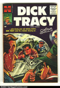 Silver Age (1956-1969):Adventure, Dick Tracy #106 (Harvey, 1956) Condition: VF. Beautiful painted cover on this high-grade, early Silver Age book. Chester Gou...