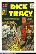 Silver Age (1956-1969):Adventure, Dick Tracy #107 (Harvey, 1957) Condition: VF+. Beautiful painted cover on this high-grade, early Silver Age book. Chester Go...