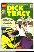 Silver Age (1956-1969):Adventure, Dick Tracy #126 (Harvey, 1958) Condition: VF+. Overstreet 2002 VF 8.0 value = $60; NM 9.4 value = $100. From the collectio...