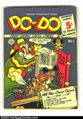 Golden Age (1938-1955):Funny Animal, Do-Do lot of #1, 3 and 4(Nationwide Publications, 1950). #1 FN+, #3VF and #4 FN-. High-grade lot of rarely seen mini-sized ... (Total:3 Comic Books Item)
