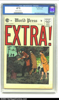Golden Age (1938-1955):Crime, Extra! #5 Gaines File pedigree 7/12 (EC, 1955) CGC FN+ 6.5 Off-white to white pages. Craig, Crandall and Severin art. Overst...