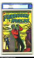 Golden Age (1938-1955):Horror, Forbidden Worlds #4 (ACG, 1952) CGC FN+ 6.5 Cream to off-whitepages. Overstreet 2002 FN 6.0 value = $120. From thecollec...