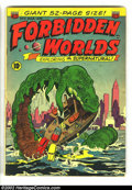 Golden Age (1938-1955):Horror, Forbidden Worlds #5 (ACG, 1952) Condition: GD. Al Williamson/RoyKrenkel art (8 pgs.). CGC has certified three copies of thi...