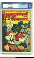Golden Age (1938-1955):Horror, Forbidden Worlds #13 (ACG, 1953) CGC FN+ 6.5 Cream to off-whitepages. Wow! What a cool Pre-code horror cover! Overstreet 20...