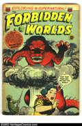 Golden Age (1938-1955):Horror, Forbidden Worlds #14 (ACG, 1952) Condition: GD. Ken Bald cover.First time we have offered a copy of the issue for auction. ...