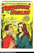 Golden Age (1938-1955):Horror, Forbidden Worlds #24 (ACG, 1953) Condition: VG+. Ken Bald cover.Lazarus, Landau, and Nicholas art. First time we have offer...