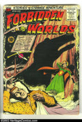 Golden Age (1938-1955):Horror, Forbidden Worlds #36 (ACG, 1955) Condition: VG-. Ogden Whitneycover. First time we have offered a copy of this issue in an ...