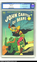 Golden Age (1938-1955):Science Fiction, Four Color #375 John Carter of Mars (Dell, 1952) CGC FN+ 6.5 Creamto off-white pages. Origin of John Carter, Jesse Marsh ar...