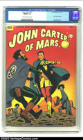Golden Age (1938-1955):Science Fiction, Four Color #437 John Cater of Mars (Dell, 1952) CGC FN/VF 7.0 Creamto off-white pages. Fantastic Jesse Marsh artwork. Overs...