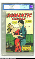Golden Age (1938-1955):Romance, Fox Giants Romantic Thrills (Fox Features Syndicate, 1950) CGC VG4.0 Off-white pages. Only CGC-graded copy of issue to date...
