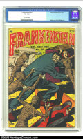 Golden Age (1938-1955):Horror, Frankenstein #27 (Prize, 1953) CGC VF 8.0 Off-white pages. DickBriefer cover and art. Meskin art. Overstreet 2002 VF 8.0 va...