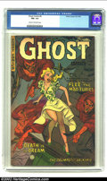 Golden Age (1938-1955):Horror, Ghost Comics #4 (Fiction House, 1952) CGC FN+ 6.5 Cream tooff-white pages. Overstreet 2002 FN 6.0 value = $99. From thec...