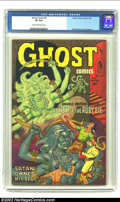 Golden Age (1938-1955):Horror, Ghost Comics #5 (Fiction House, 1952) CGC VF 8.0 Cream to off-whitepages. Overstreet 2002 VF 8.0 value = $174. From the c...