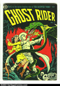 Golden Age (1938-1955):Horror, Ghost Rider #7 (Magazine Enterprises, 1952) Condition: VG/FN. DickAyers cover and art. Overstreet 2002 GD 2.0 value = $29; ...