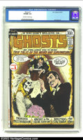 Bronze Age (1970-1979):Horror, Ghosts #1 (DC, 1971) CGC VF/NM 9.0 Off-white to white pages. JimAparo art. Overstreet 2002 NM 9.4 value = $125. ...