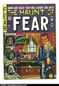 "Golden Age (1938-1955):Horror, The Haunt of Fear #6 (EC, 1951) Condition: FN-. First two pageshave 1"" off margin. Crypt Keeper by Feldstein begins. Overst..."