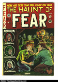 Golden Age (1938-1955):Horror, The Haunt of Fear #9 (EC, 1951) Condition: VG+. Al Feldstein didthe cover; Orlando, Ingels, Davis, and Kamen, the interior....